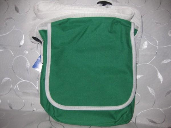 Kindergartentasche - grün/weiß