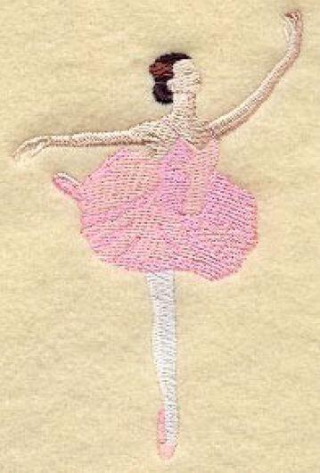 Muster mit Name Ballet 01 auf ein - Handtuch / Duschtuch / Bio Kapuzenbadetuch