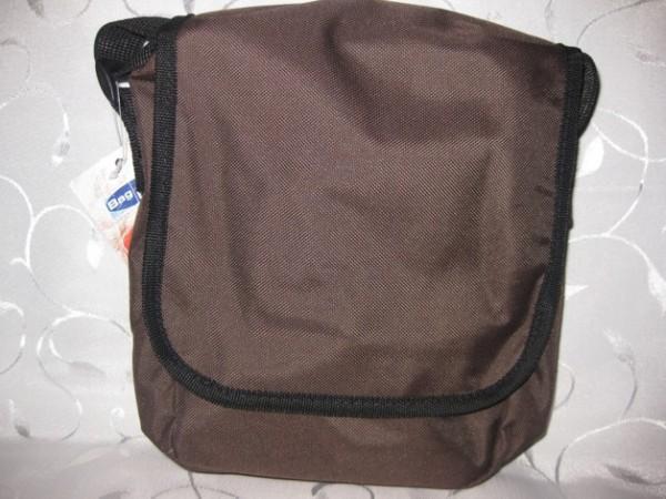 Kindergartentasche braun/schwarz