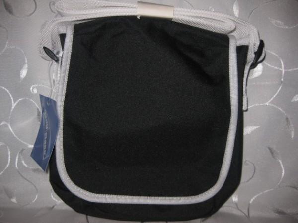 Kindergartentasche - schwarz/weiß