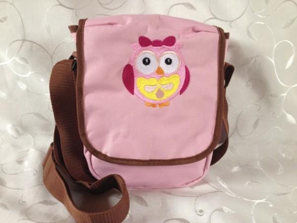 Kindergartentasche - rosa/braun