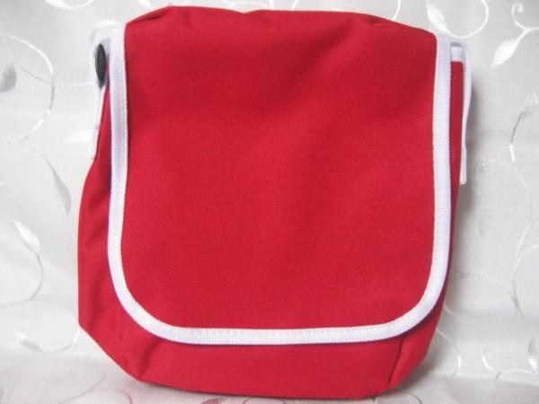 Kindergartentasche - rot/weiß