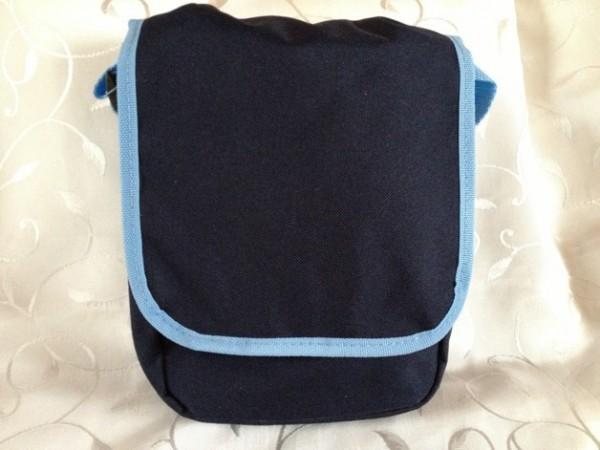 Kindergartentasche - dunkelblau/hellblau